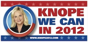 Leslie Knope's Campaign Poster